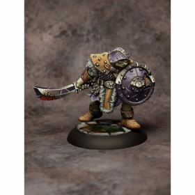 Rpr07007 Orc Warrior Of The Ragged Wound Tribe Miniature Dungeon Dwellers Reaper Minitures