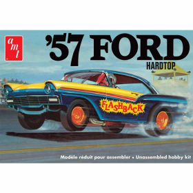 AMT101012 1957 Ford Hardtop 1/25 Scale Plastic Model Kit Round 2