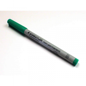 Chx03125 Green Marker Broad Tip Washable