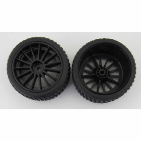 Ven-9162 Rally Tire Rim Set