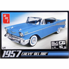 AMT638 1957 Chevy Bel Air 1/25 Scale Plastic Model Kit AMT