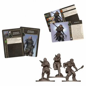 CMNSIF405 A Song of Ice and Fire Free Folk Spearwives Expansion Cool Mini