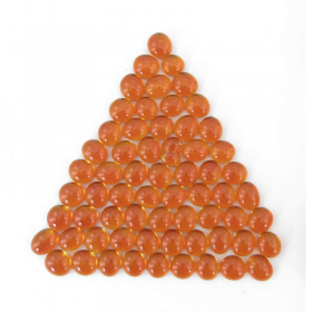 Wcx01123 Crystal Orange Stones 40 Or More