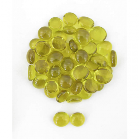 Wcx01122 Crystal Yellow Stones 40 Or More