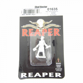 RPR01635 Chef Hector Miniature 25mm Heroic Scale Special Edition Reaper Miniatures