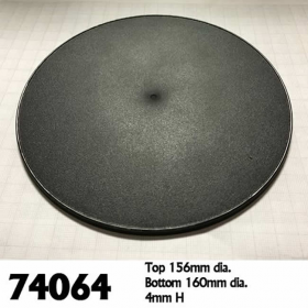 RPR74064 160mm Round Gaming Base (4) Reaper Miniature