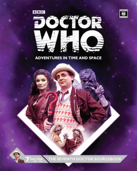 CB71116 Doctor Who Seventh Doctor Role Playing Source Book Cubicle 7
