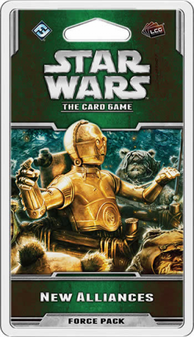 FFGSWC25 New Alliances Force Pack Star Wars Card Game Expansion Fantasy Flight Games