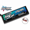 PKR00553 5000Mah 11.1v 45c Hardcase Lipo Battery with 12AWG Hardwired T Connector
