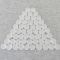 Wcx01181 Crystal Clear Frosted Glass Stones 40 Or More